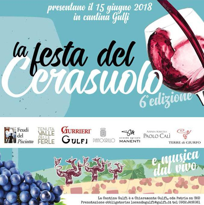 Cerasuolo Party 2018 in Gulfi winery