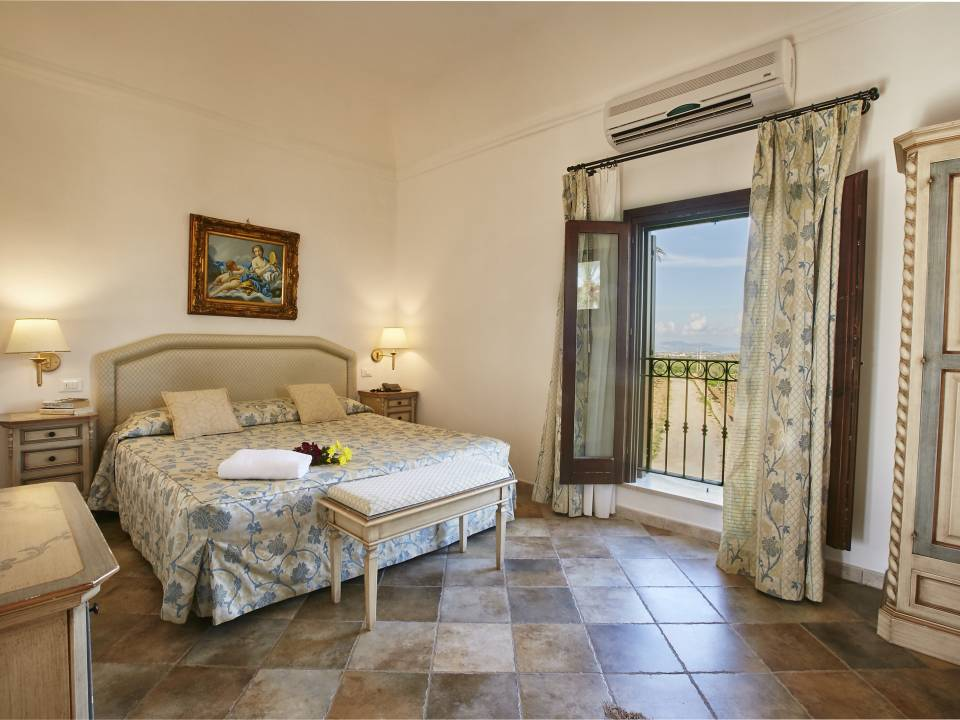 Suite with sea view Room - Baglio Donnafranca - Ansaldi winery - Ansaldi Winery - Baglio Donna Franca 1