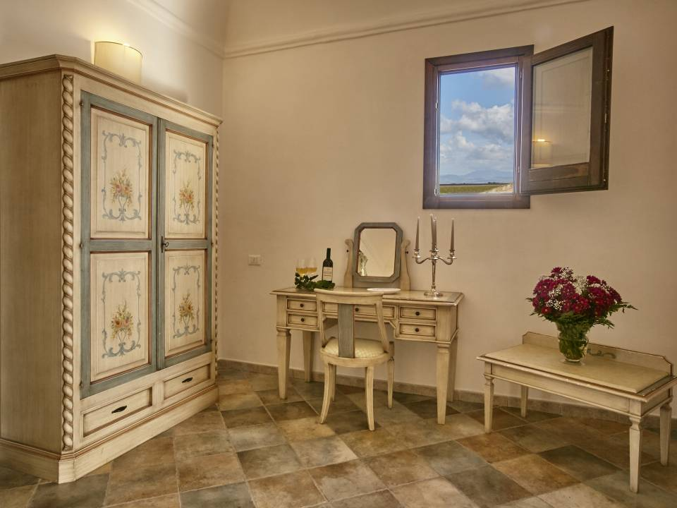Suite with sea view Room - Baglio Donnafranca - Ansaldi winery - Ansaldi Winery - Baglio Donna Franca 2