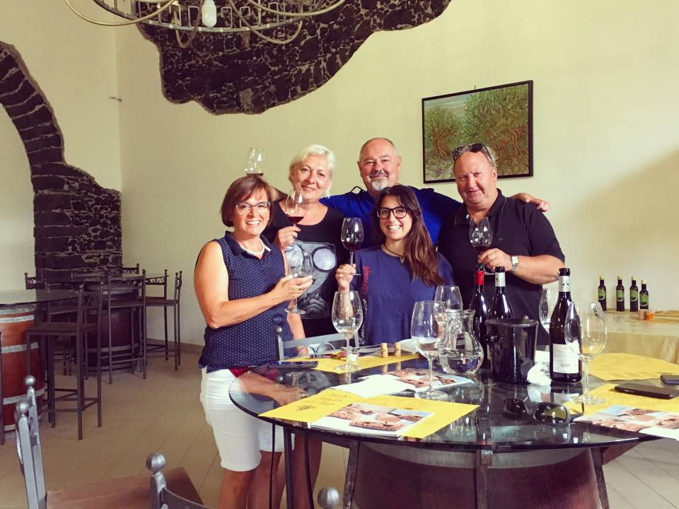 Etna Happy Hour Tasting - Cantine Valenti 1