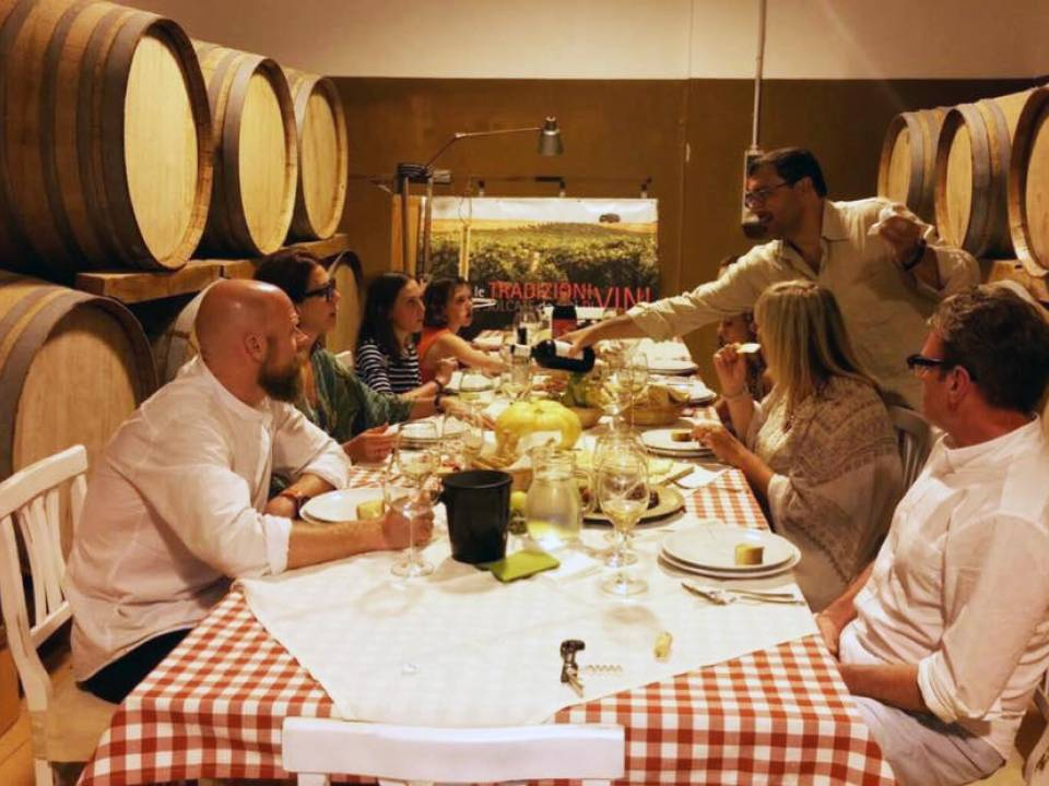 """Taste of Sicily"" Tasting dinner - Wineries Quignones"